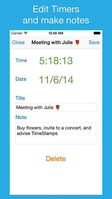 Time Stamps - reminders manager app [FREE]-timestamps-s-1.png