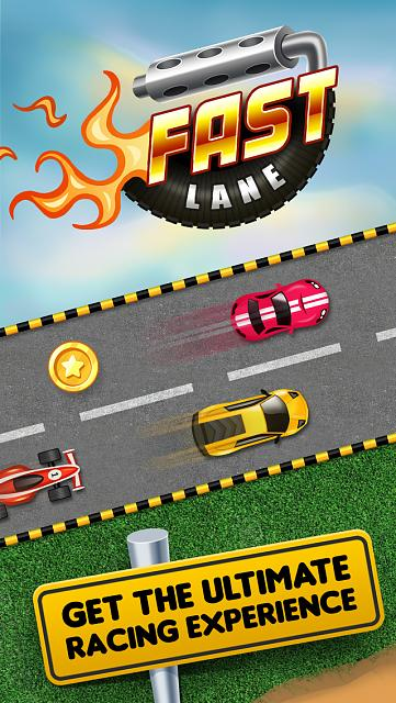 FastLane Street Racer - endless racing game [Free]-iphone5_scr1.jpg