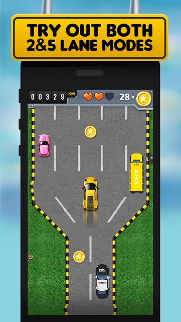 FastLane Street Racer - endless racing game [Free]-iphone5_scr2.jpg