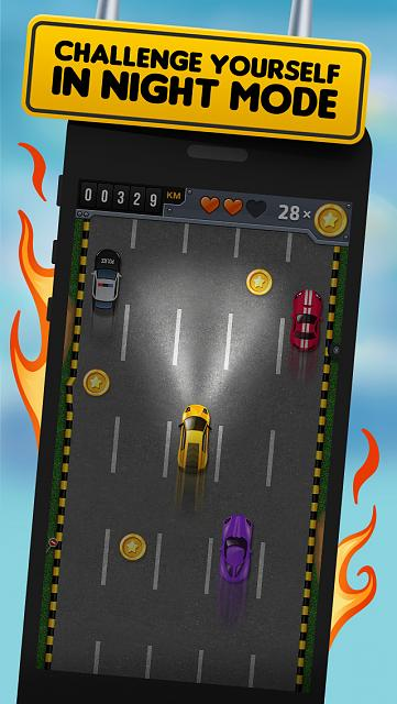 FastLane Street Racer - endless racing game [Free]-iphone5_scr4.jpg