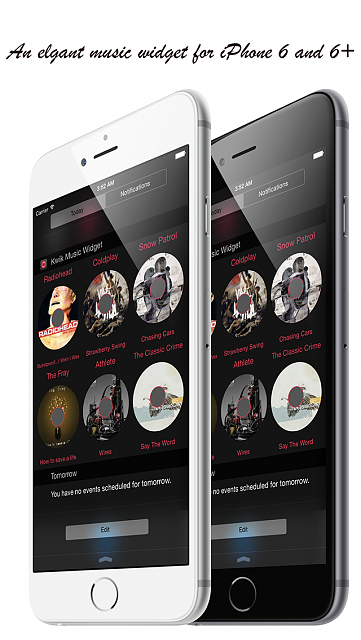 Kwik Music - Music Widget for iOS8-iphone_5_showcase_01.png