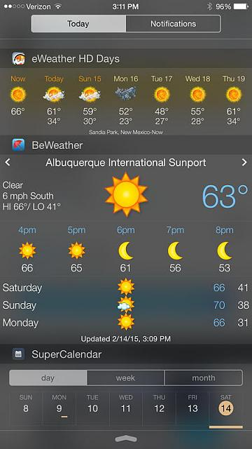 BeWeather 2 for iPhone-beweather-widget.jpg