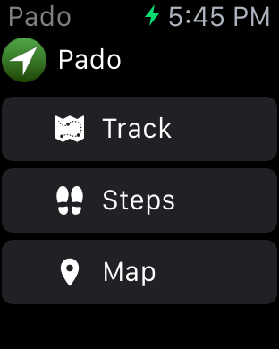 Pado - Geo Tracking App-ios-simulator-screen-shot-apple-watch-01.04.2015-17.45.09.png