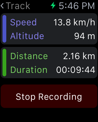 Pado - Geo Tracking App-ios-simulator-screen-shot-apple-watch-01.04.2015-17.46.21.png