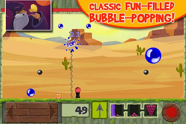 Bubble Struggle: Adventures [classic flash game on App Store]-screen2.jpg