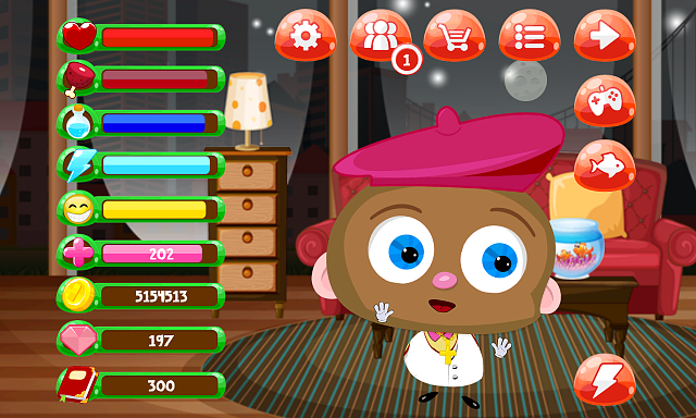 My Piper - Virtual Pet and Construction Game (Free)-screenshot_2015-07-19-21-49-44.png