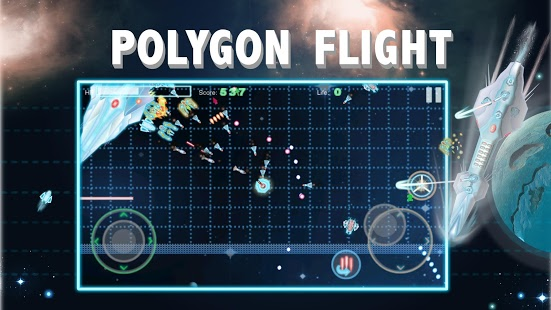 Polygon Flight : Space Combat - game [FREE][Universal]-polygonflight_1.jpg
