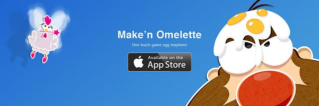 Maken Omelette New One Touch Game For Ios Iphone Ipad Ipod