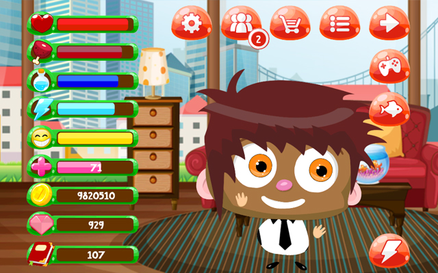 My Piper - Virtual Pet and Construction Game (Free)-mypiper_neweyes_virtualpet.jpg