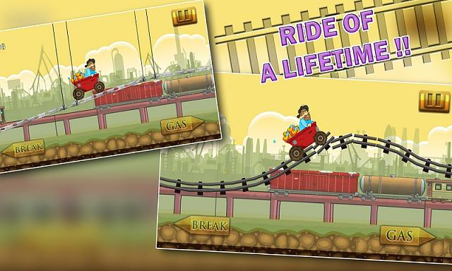 Speedy Gold Miner : Rail Rush-s1.jpg