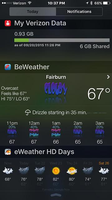 BeWeather 2 for iPhone-imageuploadedbytapatalk1442889795.903584.jpg