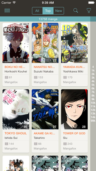 Manga Meow - Best Manga Reader App for iOS-screen322x572.jpeg