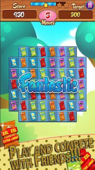 Chips Factory - Crunchy Crush Saga Challenge: Free match-3 game mania play with friends amazi-screen322x572-3-.jpeg