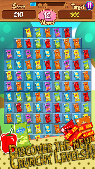 Chips Factory - Crunchy Crush Saga Challenge: Free match-3 game mania play with friends amazi-screen322x572-4-.jpeg