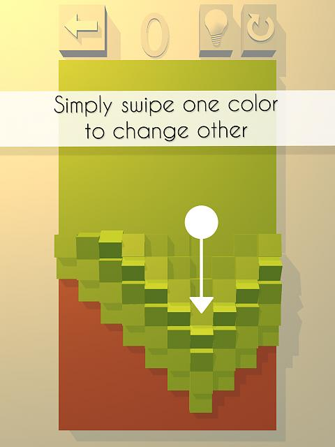 Cobe The Gallery - Relaxing and elegant puzzle game among colors and cubes.-2.jpg