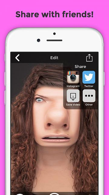 BendyBooth - Bend your face+voice to make hilarious videos-4.7-inch-iphone-6-screenshot-5.jpg