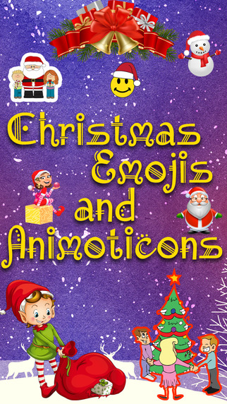 holiday 3d emojis for christmas screen322x572jpeg