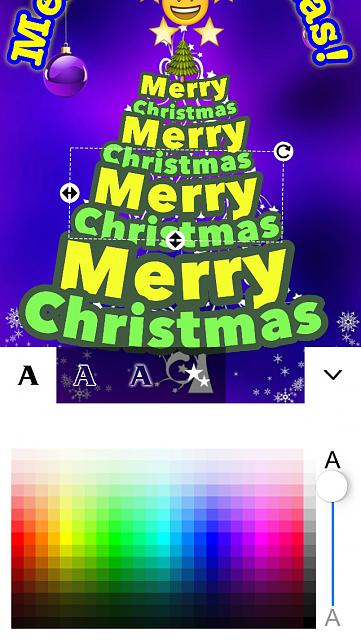Christmas cards free - It's Christmas - time to make merry and share the joy! [Universal App]-screen1136x1136.jpeg