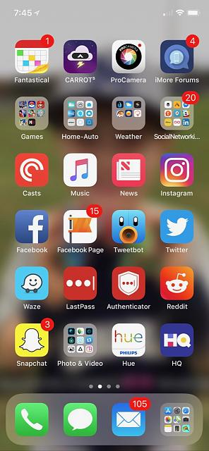 show us your new iphone x home screen iphone ipad ipod