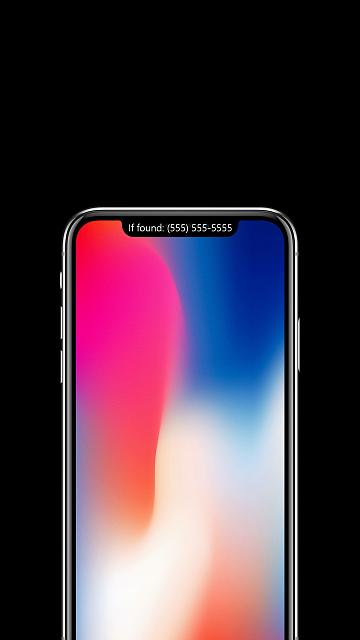 The iPhone X Wallpaper Thread-lock3.jpg