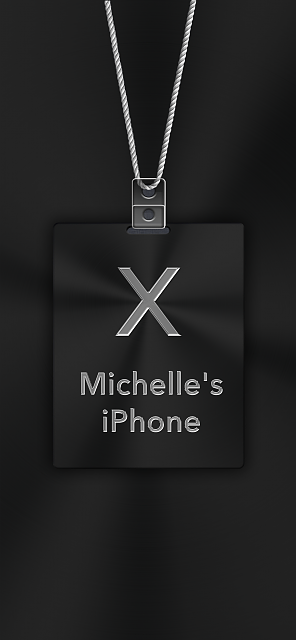 iPhone X Apple Nametag Wallpaper-1.png