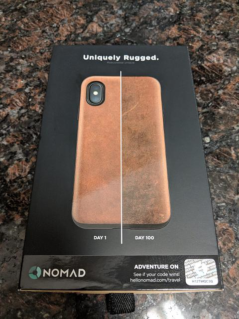 hot sales b1cdc 5ca86 Nomad Rugged Case Review for the iPhone X - iPhone, iPad, iPod ...