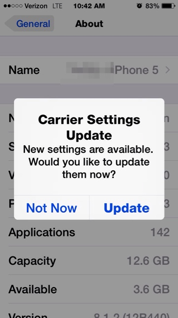 iphone won t update why won t itunes let me carrier update my iphone 15551