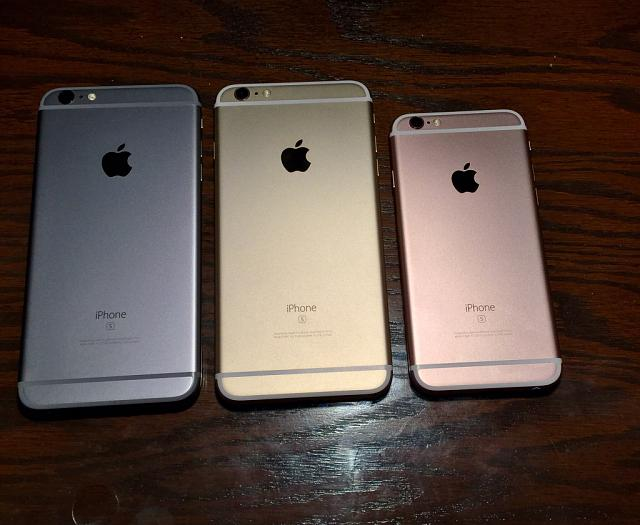 [PHOTOS]: iPhone 6S/6S Plus Space Grey, Gold, and Rose Gold in different lighting. The-imageuploadedbyimore-forums1444618279.042306.jpg