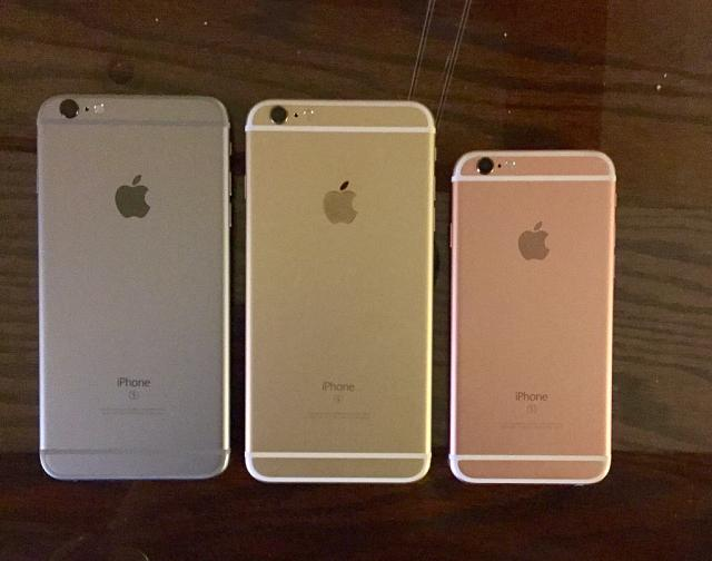 photos iphone 6s 6s plus space grey gold and rose gold in different lighting the iphone. Black Bedroom Furniture Sets. Home Design Ideas