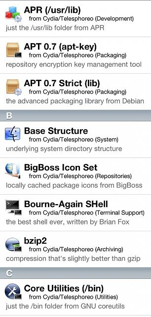 What Packages Does evasi0n Install In Cydia?-image.jpg