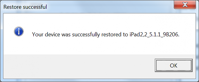 [Resolved] upgrade iPad 2 from 4.3.3 to ios 5.x-6.x with saved 4.x SHSH blobs-done.png