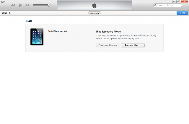 Update iPad3 from 5.1.1 to 6.1.2 Failed and now stuck at restore.-2-itunes-recovery-mode.png