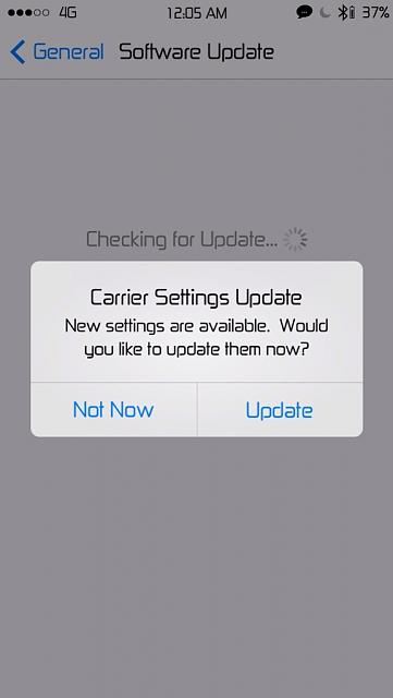 how to update carrier settings iphone carrier settings update iphone ipod forums at 19248