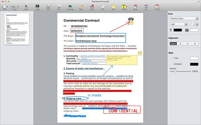 PDF Writer Pro - Fill Forms, Annotate PDFs, Sign Documents By DCBM Co., Ltd-screen800x500.jpeg