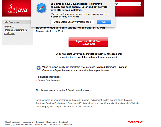 Seeing Java command-line tool pop-up every 2 - 3 hours since
