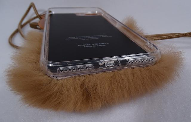 Fuzzy Bear iPhone 7 Plus Case Hairy Bea Hong Kong-fb03.jpg