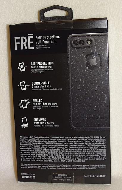 Lifeproof FRE Case iPhone 7 Plus Asphalt Black Brand New .00-blkfre03.jpg