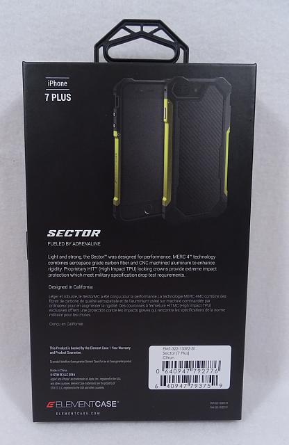 WTS: ELEMENT Sector Case Citron for iPhone 7 Plus Brand New-sec02.jpg