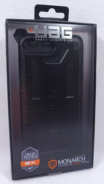 Urban Armor Gear Midnight Monarch Case iPhone 7 Plus Brand New UAG-mb01.jpg