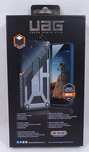 Urban Armor Gear Midnight Monarch Case iPhone 7 Plus Brand New UAG-mb02.jpg