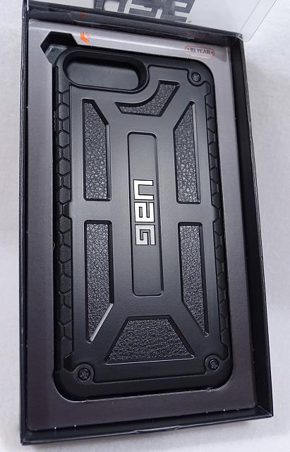 Urban Armor Gear Midnight Monarch Case iPhone 7 Plus Brand New UAG-mb04.jpg