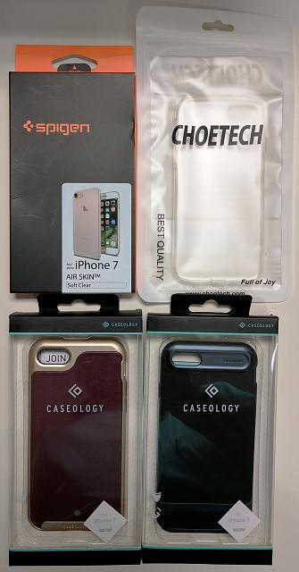 FOUR NEW Cases for iPhone 7 - Spigen, Caseology and more-img_20170501_101841.jpg