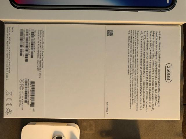 iPhone X 256GB Space Grey AT&T with AppleCare+-img_0014.jpg