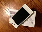 WTS: Unlocked  At&t white 4S 64 GB with Apple Care+-1.jpg