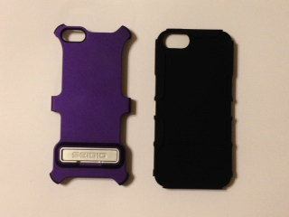 FS:  iPhone 5 Seidio Active Case w/ Kickstand (metallic purple) - -photo4.jpg