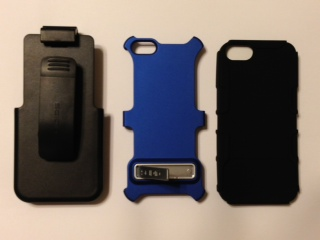 FS:  iPhone 5 Seidio Active Case w/ Kickstand (metallic purple) - -photo2.jpg