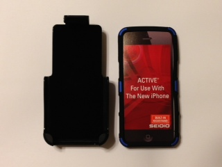 FS:  iPhone 5 Seidio Active Case w/ Kickstand (metallic purple) - -photo3.jpg