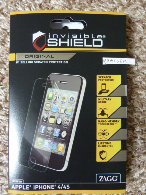WTS: Zagg Original Screen Protector for iPhone 4 4S (front only) NEW NEVER USED - -p1000986.jpg