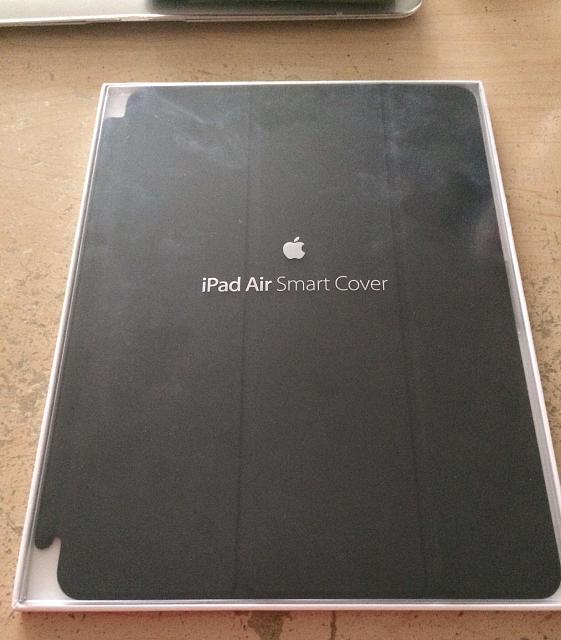 New Condition Yellow and Black LifeProof Case and Mint Condition Black iPad Air Smart Cover-img952479.jpg
