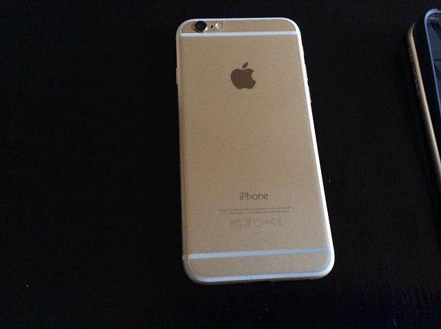 size 40 3b390 eb8ec AT&T Gold iPhone 6 (64 GB) with Spigen Case - iPhone, iPad, iPod ...